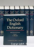 The Oxford english dictionary, volume I