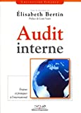 Audit Interne:enjeux et pratiques à l'international