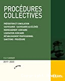 Procédures collectives 2019/2020