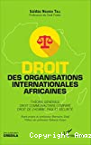 Droit des organisations internationales africaines