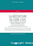 La réécriture du Code civil
