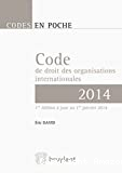 Code de droit des organisations internationales